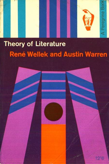 Rene Wellek, Austin Warren - Theory of Literature