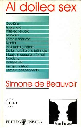 Simone de Beauvoir - Al doilea sex