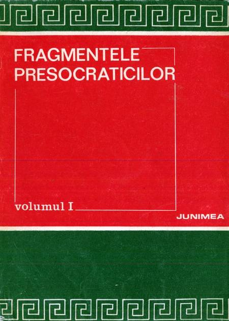 Fragmentele presocraticilor
