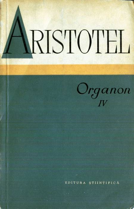Aristotel - Organon (vol. 4)