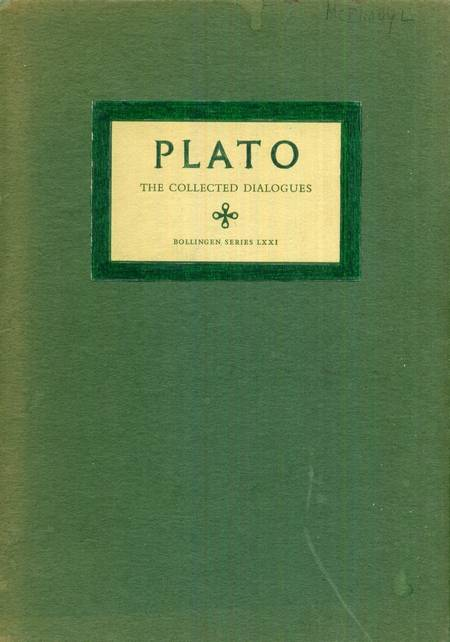 Plato - The Collected Dialogues