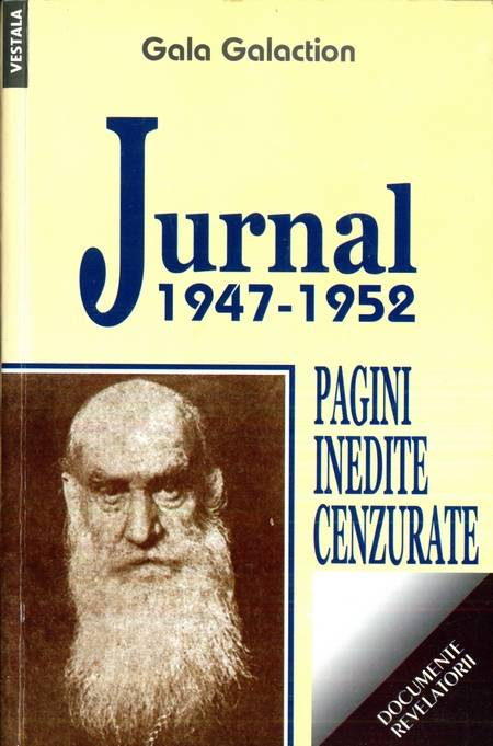 Gala Galaction - Jurnal 1947-1952 - Pagini inedite cenzurate