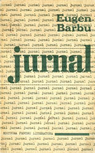 Eugen Barbu - Jurnal