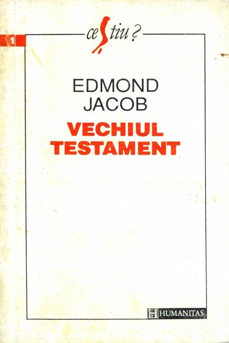 Edmond Jacob - Vechiul Testament